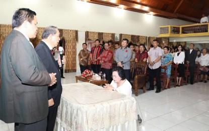 Wagub Kandouw Harap Jemaat GKMI Jadi Berkat Banyak Orang