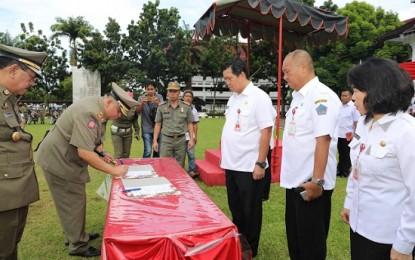 Liow Jabat Kasat Pol PP Provinsi Sulut