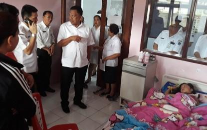 Gubernur Sulut Tinjau RSUD Noongan dan SMK Tompaso