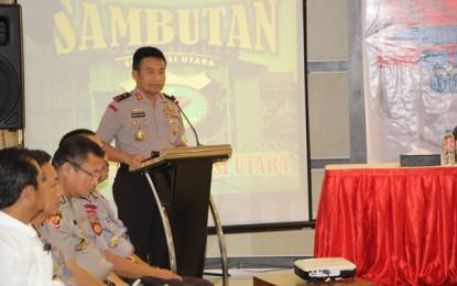 Kapolda Bambang Ingatkan Itwasda soal Pilkada di Sulut
