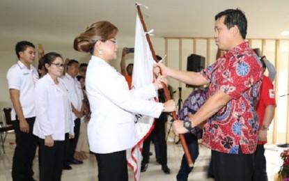 Kandouw Kukuhkan dan Lantik Pengurus PMI Kota Tomohon