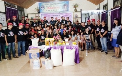 Komunitas JIPS Berbagi Kasih di Panti Asuhan Dorkas Tondano