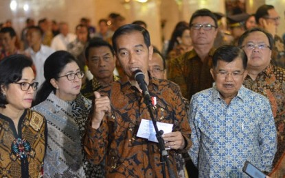 Bersama Sekprov Silangen, Wagub Kandouw Hadiri Musrenbangnas yang Dibuka Presiden Joko Widodo