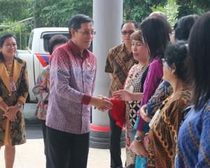 GSVL – Mor Laporkan SPT di Kantor Pelayanan Pajak Pratama Manado