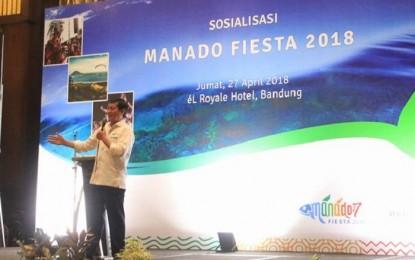 Walikota Manado Sosialisasikan Manado Fiesta 2018 di Bandung