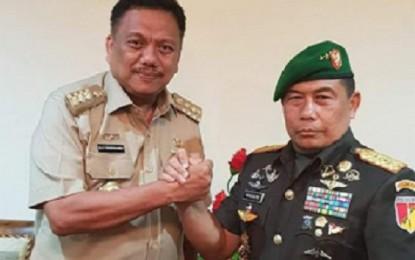 Gubernur Terima Kunjungan Pangdam XIII/Merdeka