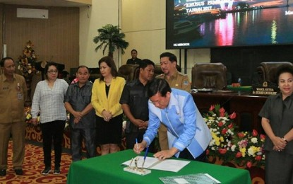 GSVL Sebut Pembangunan di Manado Dilakukan secara Bertahap