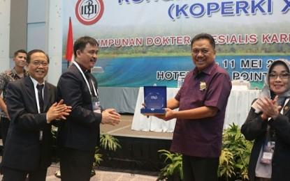 Gubernur Sulut Buka Kongres Nasional XVII Koperki