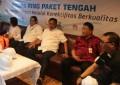 Gubernur Harap, Kabupaten dan Kota Sambut Baik Proyek Palapa Ring Paket Tengah