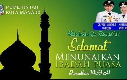 Begini Surat Edaran Walikota Manado di Buan Suci Ramadhan