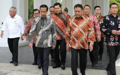 Presiden Jokowi Perintahkan Pejabat Teras Pusat Hingga Daerah Jaga Keamanan di Ramadhan