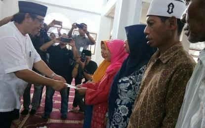 Pemprov Sulut Salurkan Seribu Paket Ramadhan