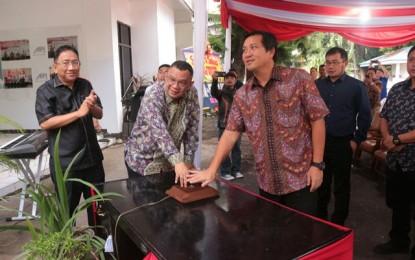 Wagub Kandouw Resmikan Kantor AIPI Manado
