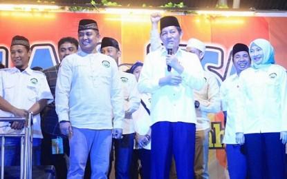 Walikota GSVL Tutup Lomba Musik Sahur Ramadhan