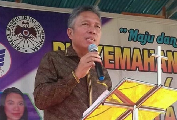 Frangky D Wongkar SH, Wakil Bupati Kabupaten Minsel
