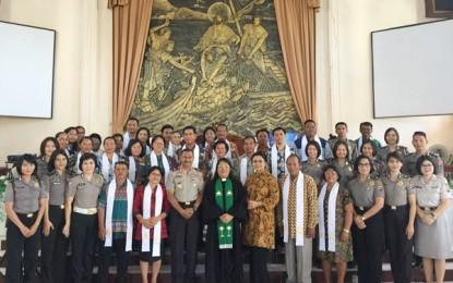 PS Polda Sulut Meriahkan Peringatan Satu Abad Jemaat GMIM Patmos Bunaken