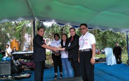 Wakili Gubernur, Sendoh Hadiri Perkemahan Remaja GMIM