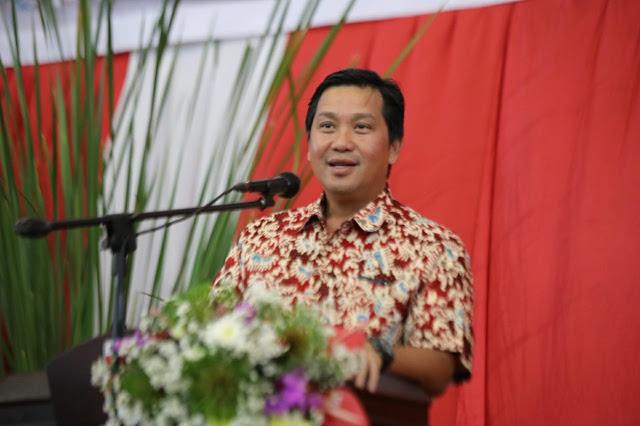 Drs Steven OE Kandouw, Wakil Gubernur Sulut sekaligus Ketua Komda Lansia Sulut
