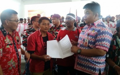 "Warga Petani Bolmong ""Mengadu"" ke Gubernur Sulut"