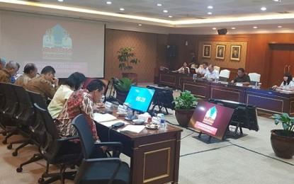 Sekprov Silangen Paparkan Program ODSK di KemenPAN-RB RI