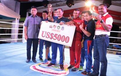 Petinju Filipina Raih Juara Umum di Kejuaraan Tinju Internasional Kapolri Cup II 2018