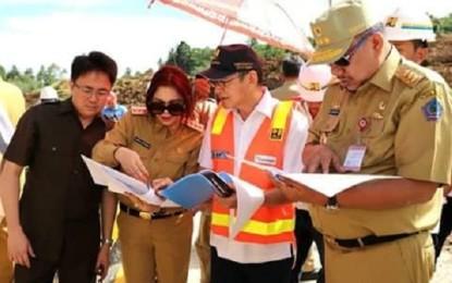 Gubernur Sulut Tinjau Langsung Pembangunan Jalan Tol Manado – Bitung