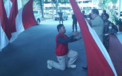 Wakili Gubernur Sulut, Humiang Lepas Kirab Satu Negeri