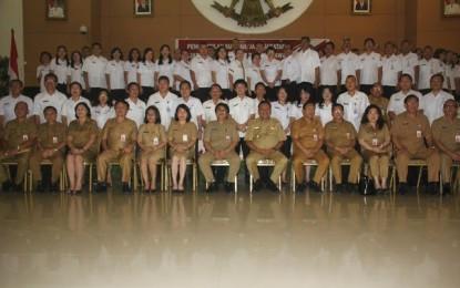 Gubernur Olly Lantik 14 pejabat Administrator dan 51 Pejabat Pengawas Pemprov Sulut