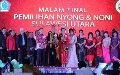 Wagub Tutup PNN 2018, Benito dan Brenda Sandang Nyong dan Noni 2018