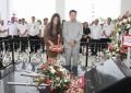 Wagub Kandouw Tabur Bunga di Makam Mantan Gubernur AJ Sondakh dan DR GSSJ Ratulangi
