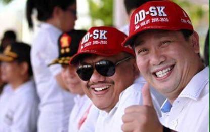 Piala ODSK Diperebutkan di Gelanggang Pacuan Kuda Maesa Tompaso