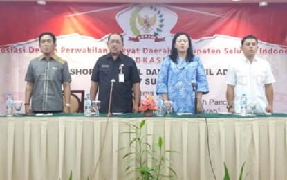 Humiang Wakili Gubernur di Workshop dan Rakorwil ADKASI Zona IV Sulawesi