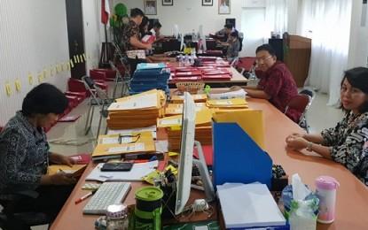 Sekprov Edwin Silangen Pantau Sekretarias Penerimaan CPNS di BKD Sulut