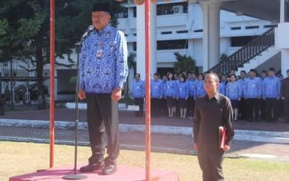 Gubernur Olly Dondokambey Irup di Hari Kesaktian Pancasila
