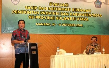 Wagub Kandouw Ingatkan SAKIP Penting untuk Pembangunan Daerah