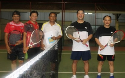 Kejurda Tenis Lapangan se-Sulut, Wagub Kandouw – Tumiwa Kalahkan Tim Unima