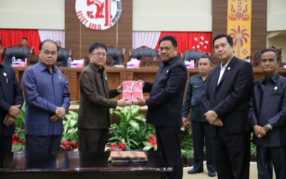 Perubahan Nomenklatur SKPD dan KUA PPAS APBD Sulut Tahun 2019 Disetujui