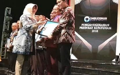 Pelayanan Publik ODSK Berhasil Raih Penghargaan Ombudsman