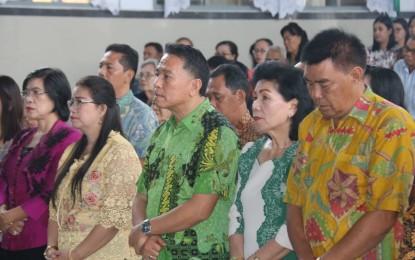 Walikota Eman Panitia Ibadah Natal KKPGA GMIM