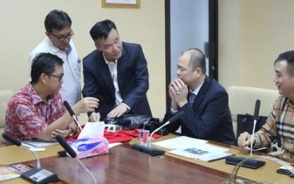 Wagub Kandouw Terima Kunjungan Investor Cina