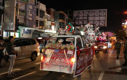Sulut Christmas Festival 2018 Suguhkan Parade Kendaraan Hias