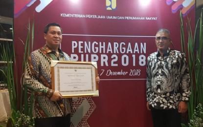 Pemprov Sulut Raih Penghargaan PUPR 2018