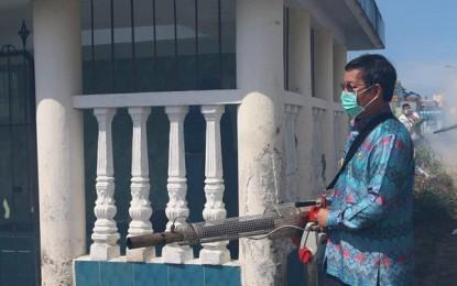 Antisipasi DBD, Walikota Manado Pimpin Kegiatan Fogging