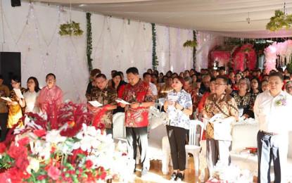 Natal Bersama KKPGA GMIM Rayon Minut, Ini Pesan Gubernur Sulut