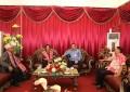 Wagub Kandouw Jemput Kedatangan Menteri Keuangan