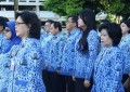 Humiang Pimpin Apel KORPRI Pemprov Sulut
