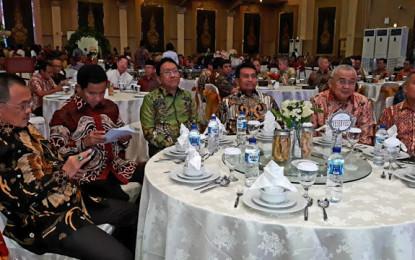 Wakili Gubernur, Sekprov Silangen Hadiri Acara Lepas Sambut Kapolda Sulut