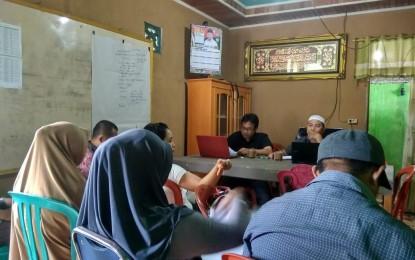 Sangadi Lantikan Perangkat Desa Bongkudai