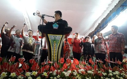 Gelar Doa Bersama dan Open House, ODSK Ajak Masyarakat Tetap Bersatu Bangun Sulut dan Indonesia