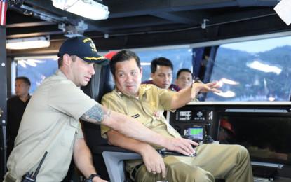 USNS Brunswick Kunjungi Sulut, Wagub Kandouw : Ini Suatu Kehormatan